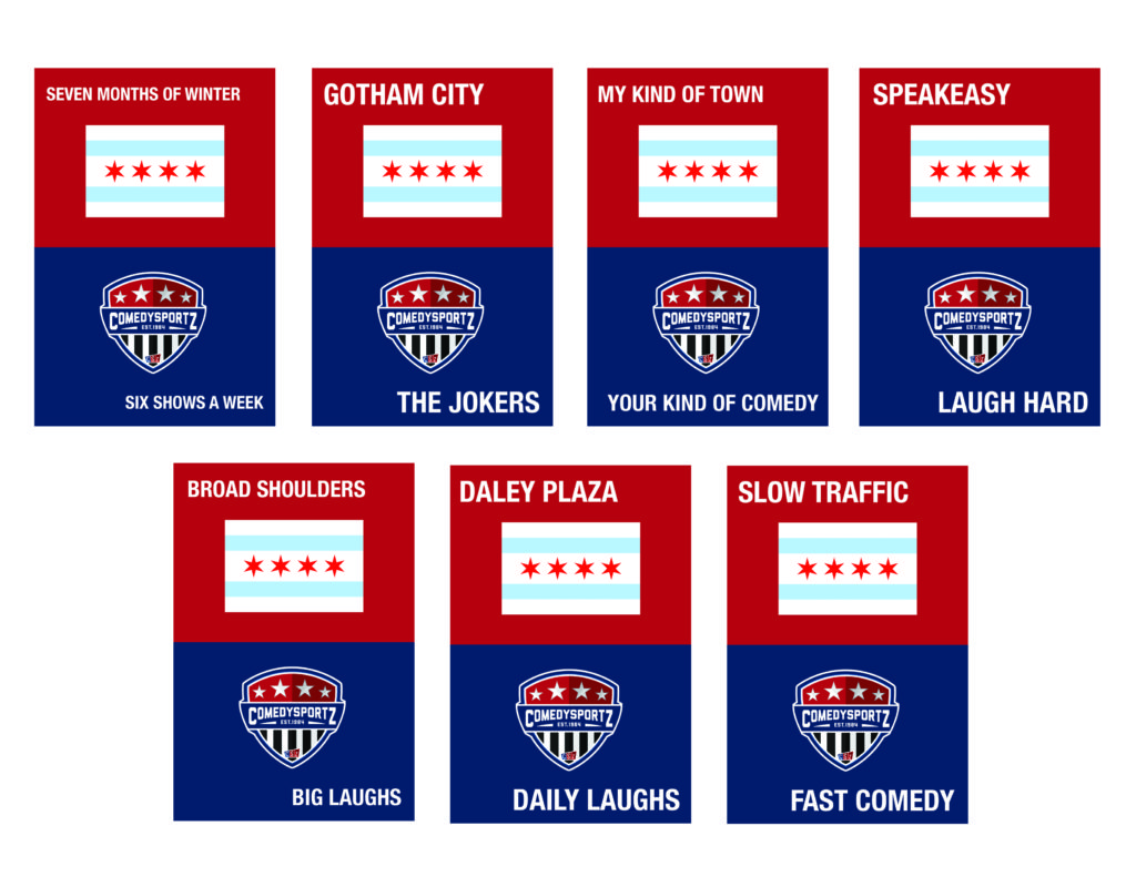 ComedySportz Joke Postcards